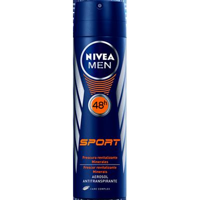Desodorante Aerossol Sport 150ml Nivea Men  UN