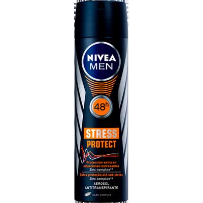 Desodorante aerosol stress protect 150ml Nivea Men  UN