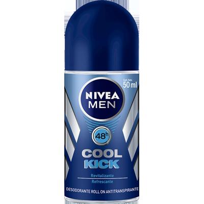 Desodorante roll-on cool kick 50ml Nivea Men  UN