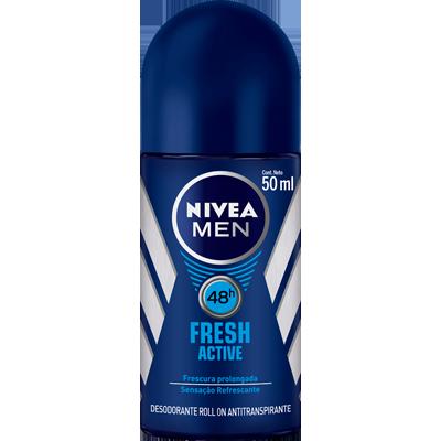Desodorante roll-on fresh active 50ml Nivea  UN