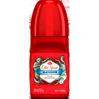 Desodorante Roll-On Matador 50ml Old Spice  UN