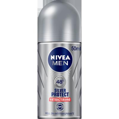 Desodorante roll-on silver protect 50ml Nivea  UN