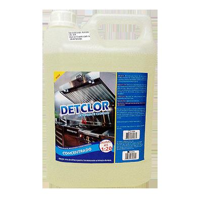 Detergente Alcalino Clorado 5Litros EBC galão GL