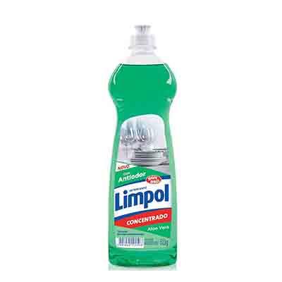 Detergente Gel Concentrado Aloe Vera 511g Limpol frasco FR