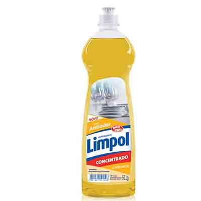 Detergente Gel Concentrado Calêndula 511g Limpol frasco FR
