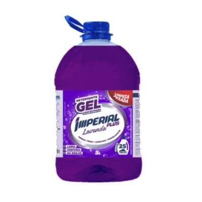 Detergente Gel Concentrado Lavanda 5Litros Imperial Plus galão GL