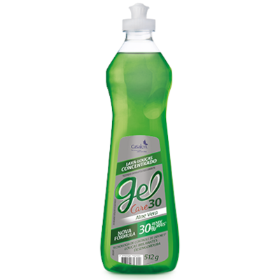 Detergente Gel Aloe Vera 512g CasaKm frasco FR