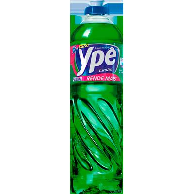 Detergente Líquido Limão 500ml Ypê frasco FR