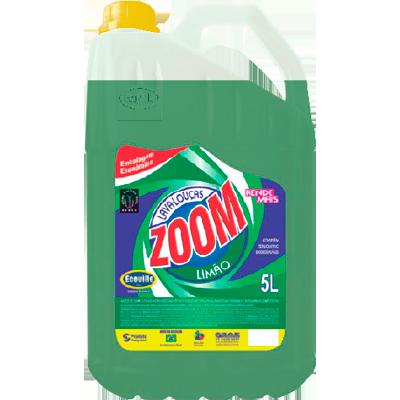 Detergente Líquido Limão 5Litros Ecoville/Zoom galão GL
