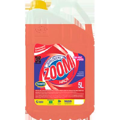 Detergente Líquido Maçã 5Litros Ecoville/Zoom galão GL