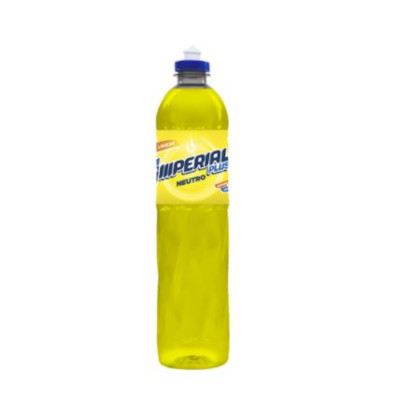 Detergente Líquido Neutro 500ml Imperial Plus frasco FR