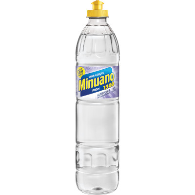 Detergente Líquido Fresh 500ml Minuano frasco FR