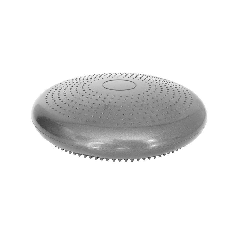 Disco de Equilíbrio T6 em PVC 34cm Cinza unidade Acte  UN