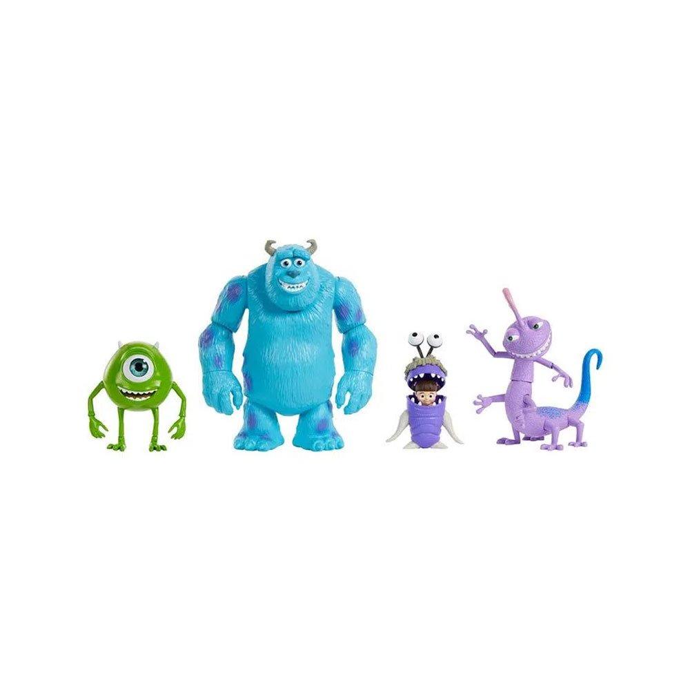 Disney Pixar Sully, Mike Boo e Randall Monsters Inc Figuras de Ação 7 Polegadas Colorido unidade Mattel  UN