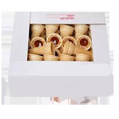 Doce de leite canudo 50 unidades Clamel caixa CX