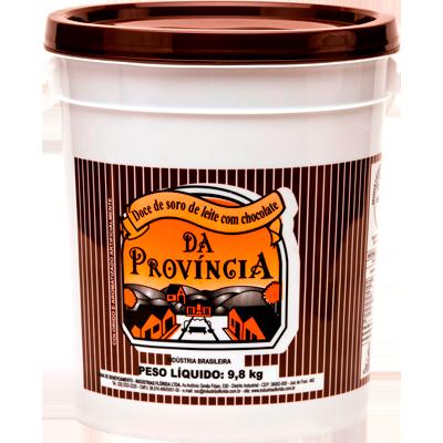 Doce de leite com chocolate cremoso por kg Provincia balde KG