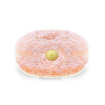 Donut recheado de creme bavariano 24 unidades de 70g Melhor Bocado caixa CX