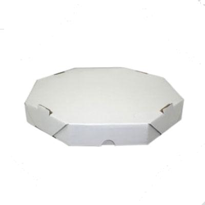 Embalagem para pizza oitavada 25cm lisa 25 unidades Master Clean pacote PCT