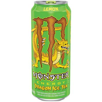 Energético Dragon Ice Tea 473ml Monster Energy lata UN