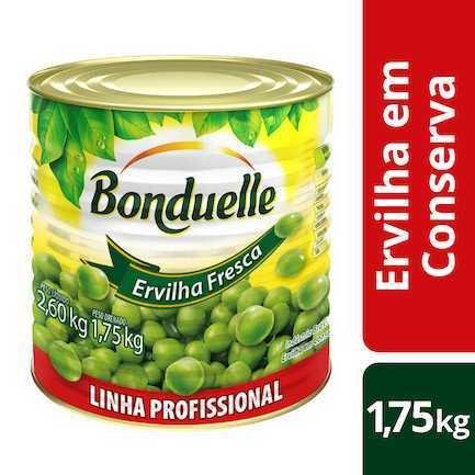 Ervilha em Conserva 1,75kg Bonduelle lata LT