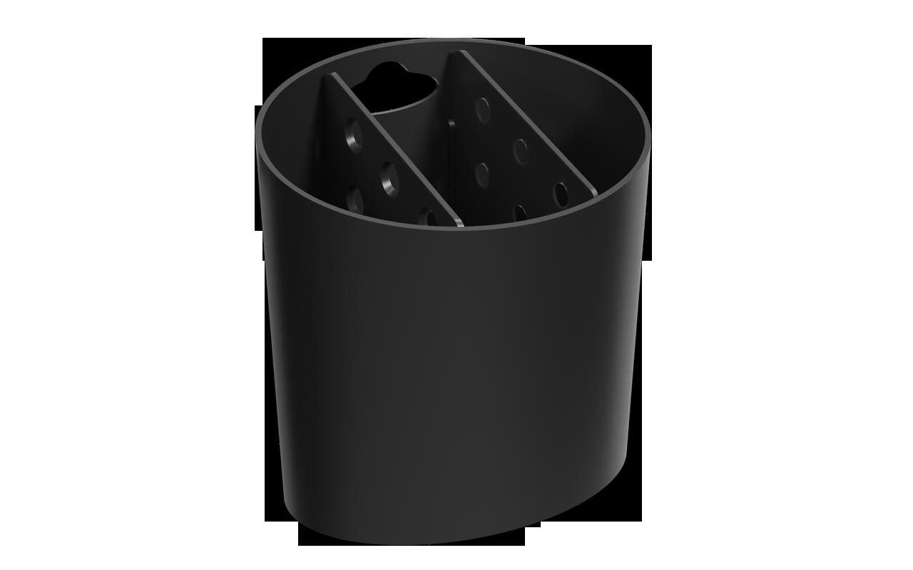 Escorredor  de Talheres Oval Basic Polipropileno(PP) unidade Coza  UN
