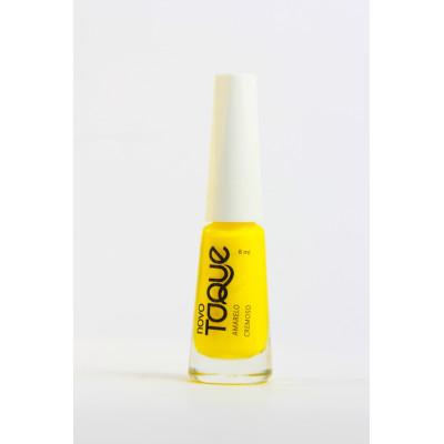 Esmalte Cremoso Amarelo 8ml Novo Toque  UN