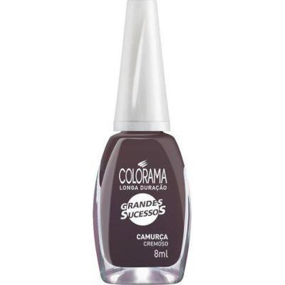 Esmalte Cremoso Camurça 8ml Colorama blister UN
