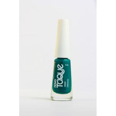 Esmalte Cremoso Verde 8ml Novo Toque  UN