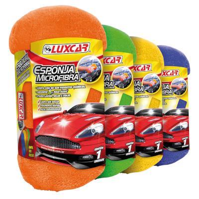 Esponja Microfibra para Automóveis unidade LuxCar  UN
