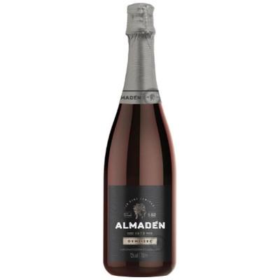 Espumante Nacional Branco Demi-Sec 750ml Almaden garrafa UN