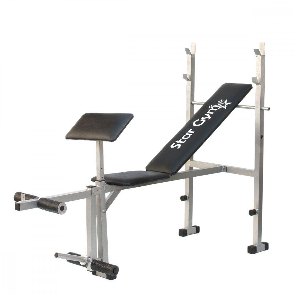 Estação de Musculação S300 Iniciante Preta unidade Star  UN