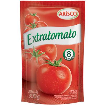 Extrato de tomate  300g Extratomato sachê UN