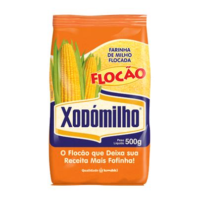 Farinha de Milho  500g Xodómilho pacote PCT