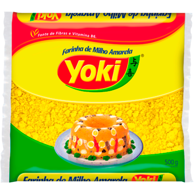 Farinha de milho  500g Yoki pacote PCT