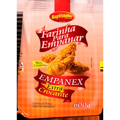 Farinha de rosca extra crocante 600g Empanex/Baptistella pacote PCT