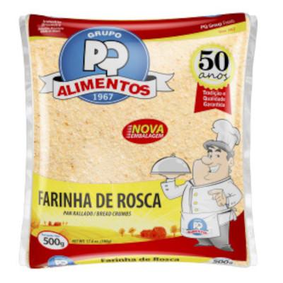 Farinha de rosca  500g PQ Alimentos pacote PCT