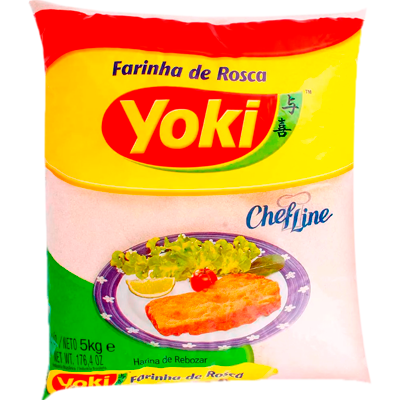 Farinha de rosca  5kg Yoki pacote PCT