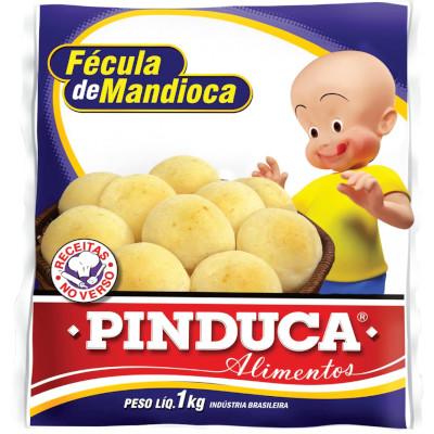 Fécula de Mandioca 1kg Pinduca  pacote PCT