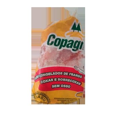Filé de Coxa com Sobrecoxa congelado por Kg Copagril  KG