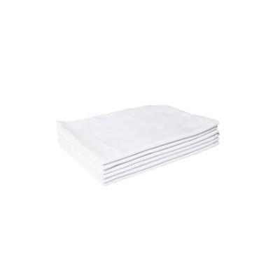 Flanela para limpeza branca 30x40 unidade AMT  UN