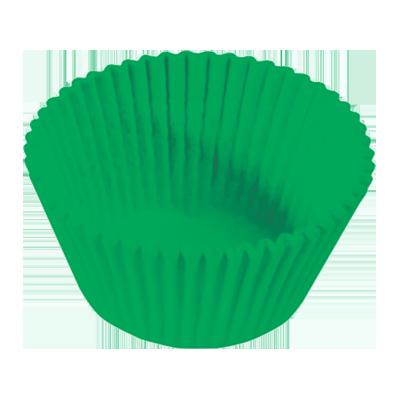 Forminha para cupcake verde n°0 20 unidades Master Clean pacote PCT