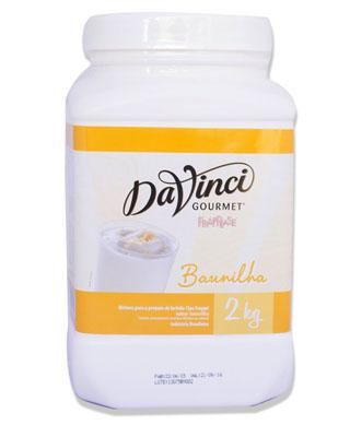 Frappease baunilha 2kg Da Vinci/Gourmet  UN