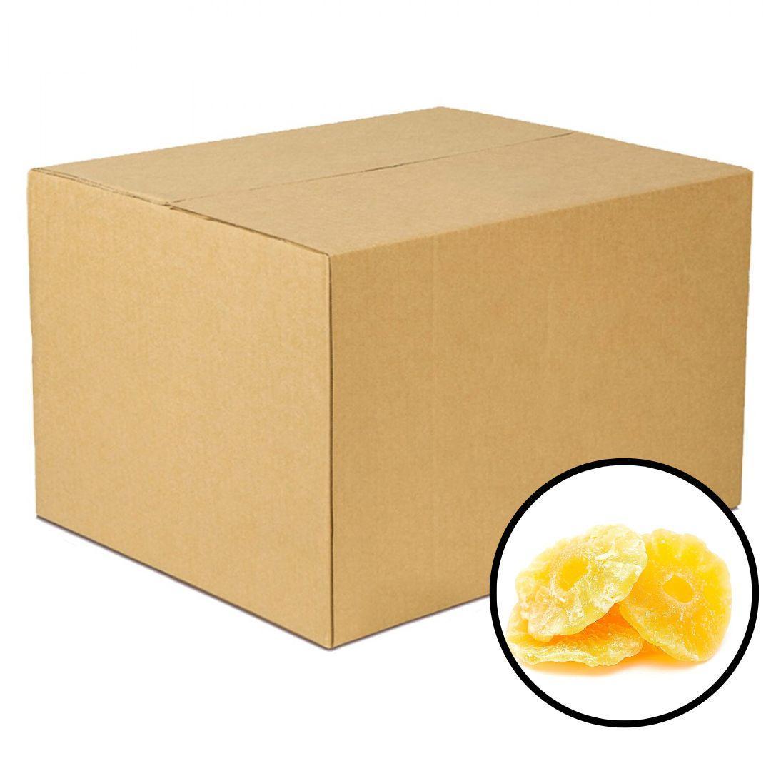 Frutas desidratadas abacaxi por kg Empório Gênova a granel KG