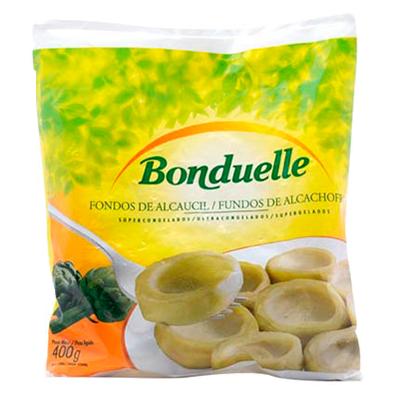 Fundo de Alcachofra congelada 400g Bonduelle pacote UN