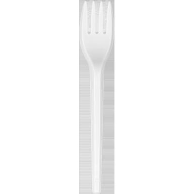 Garfo descartável sobremesa branco 50 unidades Ricoplast pacote PCT