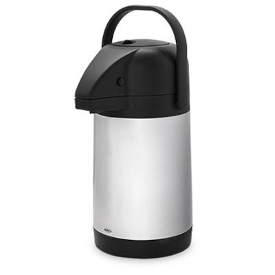 Garrafa Térmica 1,9 Litros Aço Inox e Alumínio  22x15.5x30.5 cm  Brinox  UN