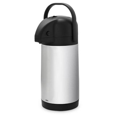 Garrafa Térmica 2,5 Litros Aço Inox e Alumínio   22x15.5x35.5 cm Brinox  UN