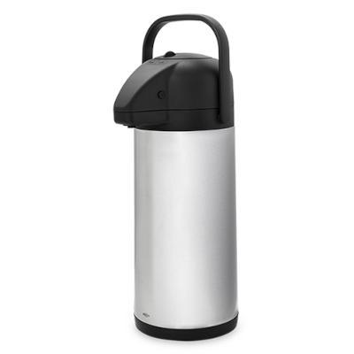 Garrafa Térmica 3 Litros Aço Inox e Alumínio  42x20x20 cm Brinox  UN