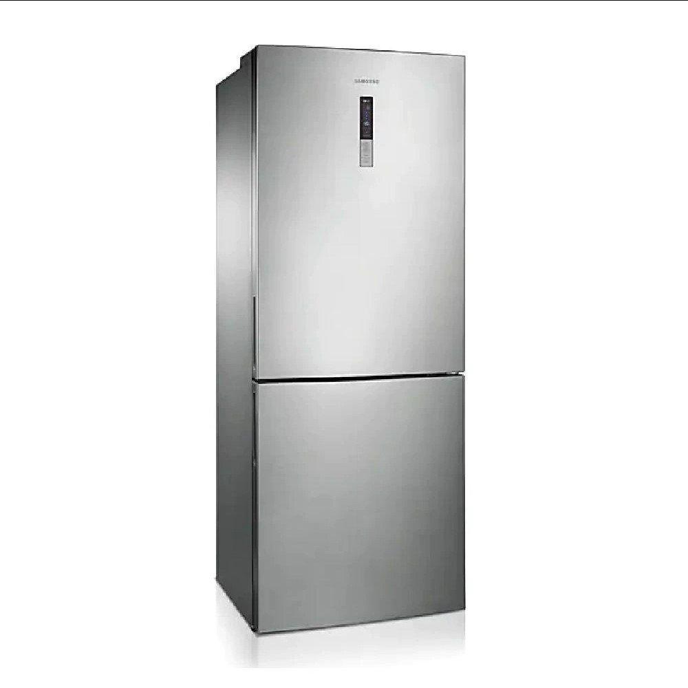 Geladeira Automática 2 Portas Bottom 435 Litros Inox 220v unidade Samsung  UN