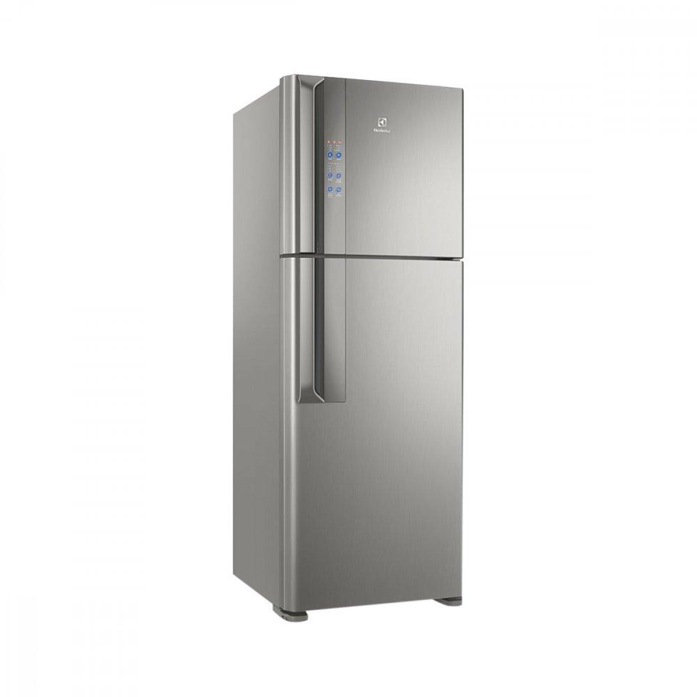 Geladeira Automática Top Freezer 2 Portas DF56S 474 Litros Cinza 110v unidade Electrolux  UN